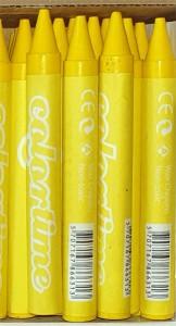 Single Crayon Yellow