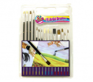 15 Assorted Brushes
