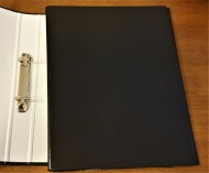 A4 Ring Binder Black