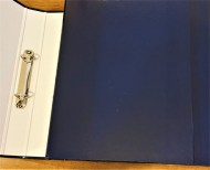 A4 Ring Binder Blue