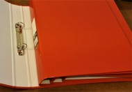 A4 Ring Binder Red
