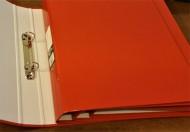 A4 Ring Binder Red