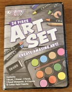 Kids Art Set 24 Pcs