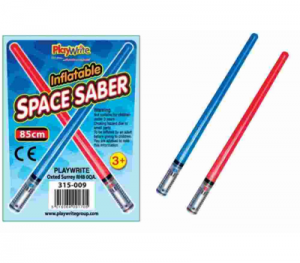 Inflatable Space Saber Red