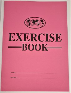 Exercise book A4 Pink