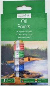 Oil paints 8pk 6ml