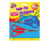 Scissors 2 pk safe tip