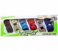 Street Racer Cars set of six