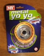 Metal Yoyo Orange