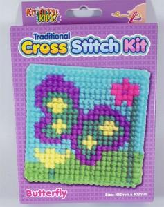 Cross Stitch Kit Butterfly
