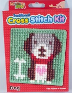 Cross Stitch Kit Dog