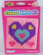 Cross Stitch Kit Heart