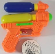 Water Gun Orange double tank 14cm
