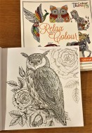 Relax Colouring Book Animals