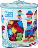 Mega Bloks Building Bag 60 pieces Blue