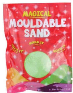 Mouldable Green Putty Sand