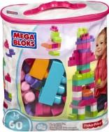 Mega Bloks Building Bag 60 pieces Pink
