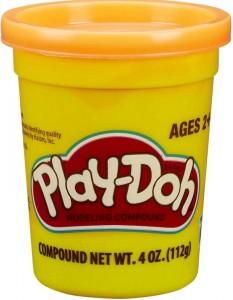 Play-Doh Single Tub Orange