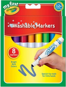 Crayola 8 First Washable Markers
